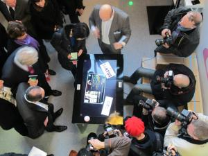Visite du CITC Smart Home(source: compte FaceBook d'Euratechnologies