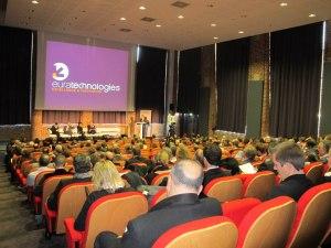 Plénière de restitution @ Euratechnologies(source : compte facebook d'Euratechnologies)