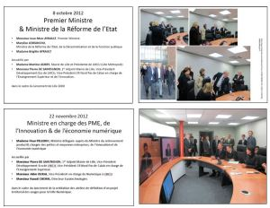 TelePresence Euratechnologies - Ministres1