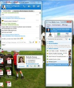 Webex connect : présence et messagerie instantanée