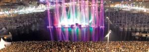 Soiée de lancement Marseille Capitale Européenne de la Culture (source : LeNouvelEconomiste.fr)