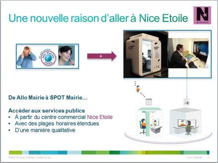 Les services publics disponibles à Nice Etoile(source : Cisco)