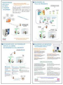 Schéma de principe de la solution Remote Expert for Government Services